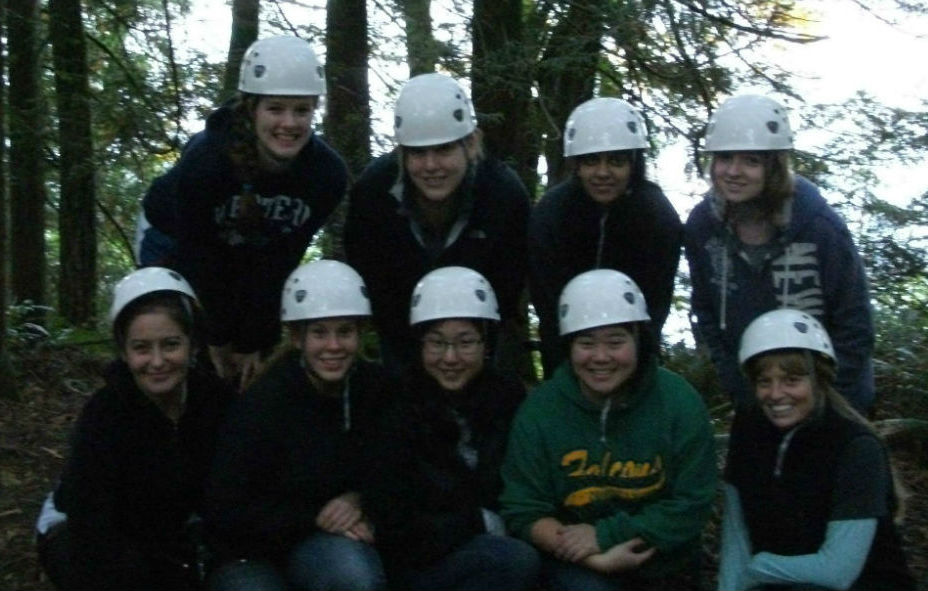 Picture at the Lakewood Ropes Course