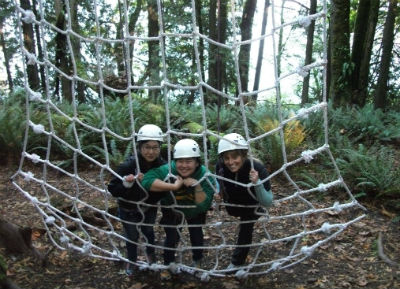 Picture taken at the Ropes Course 2014